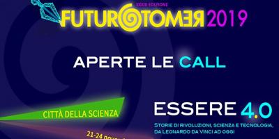 Futuro Remoto 2019 su Essere 4.0, aperte le calls per partecipare