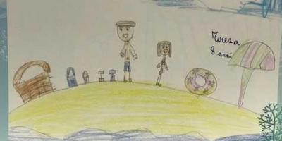 Alla Vanvitelli il calendario realizzato dai bambini dell'oncologia pediatrica